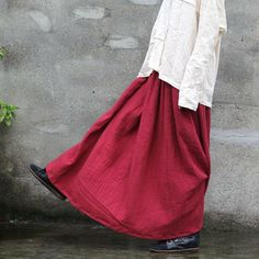Cheap skirt boutique, Buy Quality skirt kit directly from China women office skirt Suppliers: Cotton Linen Long Robe Summer 2015 New Women Tie Dye Loose Maxi Plus Size Solid Casual Breathe Comfortable Vintage Dress