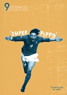 Football Legends by Dylan Giala, via Behance Retro Football, Sport Football, Football Gif, Sport Man, Sport Girl, Sports Graphic Design, Soccer Poster, Sport Quotes, Ac Milan