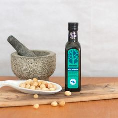 Wonderfully light, golden oil with a nutty flavour, makes it wonderful for sauces, vinaigrettes and sauteeing vegetables. It contains  high levels of mono-unsaturated fats (more than olive oil even!) as well as  natural antioxidants and Palmitoleic Acid which aids fat metabolism.