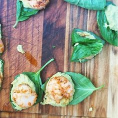 All Among Friends: 5 Ingredients, 10 Minutes: Basil Wrapped Shrimp
