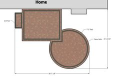 Circle Paver Kit Patio with Fire Pit | Outdoor Fireplaces & Fire Pits