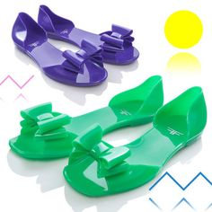 Jelly shoes, wooh!!!
