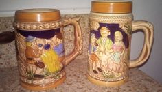Hey, I found this really awesome Etsy listing at https://www.etsy.com/listing/239157658/vtg-german-style-stoneware-beer-steins