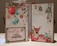 Cricut Christmas Cards, A Christmas Story, Mini Albums, Mixed Media, Creations, Paper Crafts, Scrapbook, Tags, Xmas
