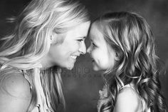 Mother daughter photography so cute...
