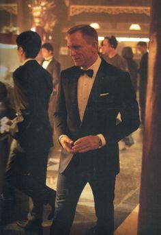 Daniel Craig as James Bond.