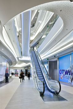 Rzeszów City Center, Shopping Mall, Interior, Rzeszów-Poland #architecture ☮k☮