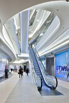Rzeszów City Center, Shopping Mall, Interior, Rzeszów-Poland #architecture ☮k☮