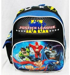 Mini Backpack  DC Comic  Justice League  Team >>> You can get additional details at the image link.