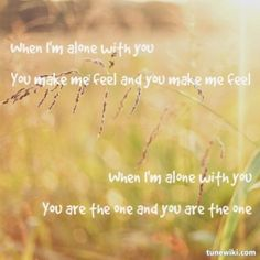 When I'm Alone by Lissie