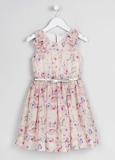 Girls Butterfly Dress (3-13yrs) - Matalan Butterfly Dress bd686a203