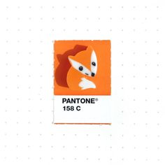 Pantone 158 color match.  Foxy little eraser I bought for my daughter who's going into Kindergarden this Fall.