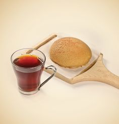 Pappa Black Tea with bun