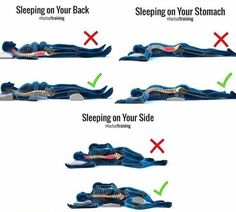 3 Best Sleeping Positions - All About Health Health Facts, Health Tips, Cat Health, Brain Health, Healthy Sleeping Positions, Best Sleep Positions, Yoga Positions, Massage Dos, Ways To Sleep