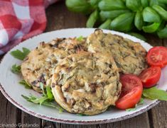 Finger Food, Salmon Burgers, Risotto, Chicken, Meat, Ethnic Recipes, Vegetarian, Food Cakes, Finger Foods