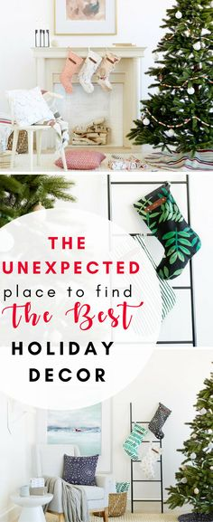 Hands down this place has gorgeous home holiday home decor, and why I wasn't shopping there I do not know!! You must check out the adorable personalized stockings!