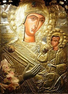 Mother and Child Architecture Art Design, Art Icon, In Ancient Times, Orthodox Icons, Russian Art, Mother Mary, Illuminated Manuscript, Holidays And Events, Mona Lisa