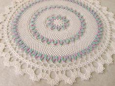 crochethuahua: Tropical Bruges Lace Doily
