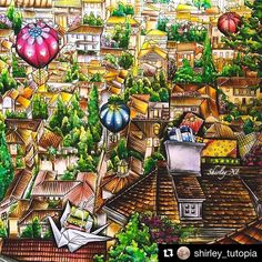 #Repost @shirley_tutopia with @repostapp ・・・ Finished✨✨✨Overlooking the town New video is available on my YT@Shirley_TutopiaFull of trees and houses, do you like it? ColoringBook: The night voyage by @daria486 ✏️Medium: Prisma Primier #thenightvoyage #thenightvoyagecoloringbook #dariasong #coloringbook #coloring #coloriage #colouringforadults #prismacolor #coloredpencils #adultcoloring #shirleytutopia #colouring #colouringbook #coloringtutorial #塗り絵の本 #大人の塗リ絵 #著色本