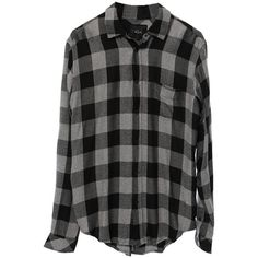 Rails Men's Lennox Button Down Shirt ($138) ❤ liked on Polyvore featuring men's fashion, men's clothing, men's shirts, men's casual shirts, tops, shirts, flannel, long sleeves, mens longsleeve shirts and mens long sleeve shirts