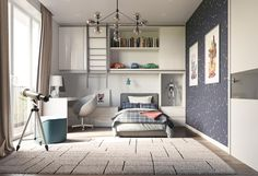 Check out this collection of fun kid's rooms with style to boot.