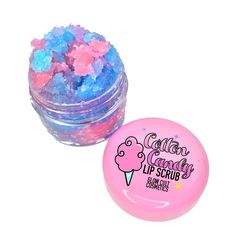 Cotton candy lip scrub from www.glowcultcosmetics.com