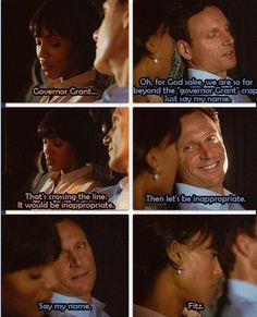 "Scandal - Olivia & Fitz #Olitz  ""Say my name.."""
