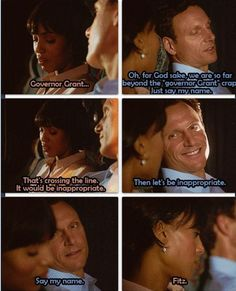 "Scandal - Olivia & Fitz #Olitz ""Say my name.."""