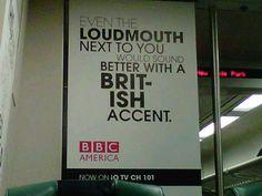 BBC America Ads made my day!
