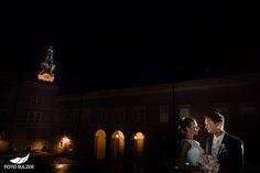 Hochzeit Salzburg St. Peter bei Nacht