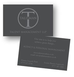 Business Cards designed for a client :)