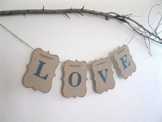 24 Ways To Use Kraft Paper In Your Wedding 15