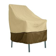 Outdoor furniture Covered - Classic Accessories Veranda High Back Patio Chair Cover Durable and Water Resistant Outdoor Furniture Cover Patio Loveseat, Patio Chaise Lounge, Patio Cushions, Patio Chairs, Ikea Chairs, Arm Chairs, Beach Chairs, Office Chairs, Adirondack Chairs