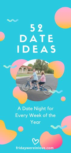 52 Date Ideas: A Weekly Date Night To Do Every Week of the Year! 52 Date Night Ideas: one date idea for every week of the year. Every month there's a free date idea, an at-home date idea, and dates perfect for the season! Winter Date Ideas, Free Date Ideas, Unique Date Ideas, Cheap Date Ideas, Date Ideas For New Couples, Marriage Relationship, Happy Marriage, Marriage Advice, Healthy Marriage