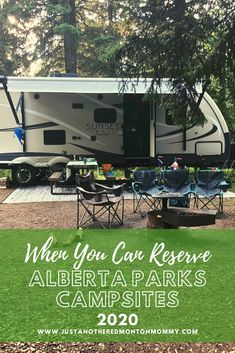 Here's When You Can Reserve Alberta Parks Campsites 2020 Tent Trailer Camping, Kayak Camping, Campsite, Camping Hammock, Canvas Wall Tent, Hiking Tips, Hiking Gear, Stuff To Do, Things To Do