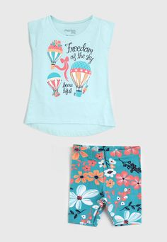 Kids Girls Tops, Baby Girl Tops, Fashion Kids, Kids Outfits, Summer Outfits, 1st Birthday Shirts, Baby Dress Patterns, Hot Pants, Baby Design