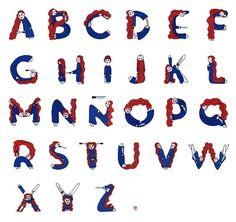 Alfabeto Muñeca - Laura Rico
