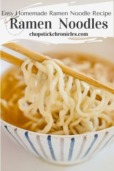 Easy homemade ramen noodles recipe without using a noodle-making machine. You can make delicious noodles at home with just 4 ingredients. #japaneseramen #noodlerecipes #recipes #noodlerecipeseasy #noodlerecipessoup  #noodles #recipeseasy #ramennoodlerecipes Japanese Street Food, Japanese Food, Home Made Ramen Noodles, Dumplings Receta, Ramen Noodle Recipes Homemade, Japanese Noodle Dish, How To Make Ramen, Asian Recipes, Ethnic Recipes