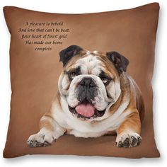 Portraits of this quality deserve only the finest materials! The gorgeous colors and textures of the original artwork have been faithfully reprodu. Danbury Mint, Bullying, French Bulldog, Original Artwork, Bulldogs, Dog Pillows, Portraits, Animals, Future