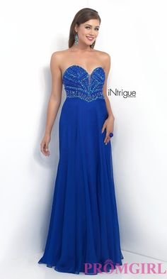 Perfect blue prom dress