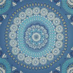 Colorful bohem fabric