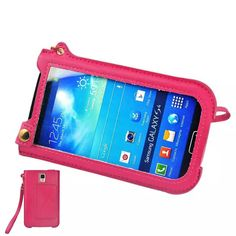 Find More Phone Bags & Cases Information about New Design Handbag Phone Case for Samsung Galaxy NOET3 PU Leather Pouch Magic Button View Window for Samsung S4 XCT38,High Quality handbag bow,China handbag orange Suppliers, Cheap handbag table from Just Only on Aliexpress.com