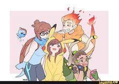 Overwatch x Pokemon