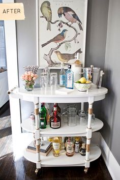 bar-cart after