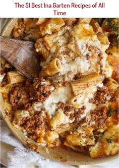The 50 Best Ina Garten Recipes of All Time - PureWow Pasta Recipes, Dinner Recipes, Cooking Recipes, Cooking Tips, Lamb Recipes, Casserole Recipes, Tufo Recipes, Freezable Recipes, Bucatini Recipes