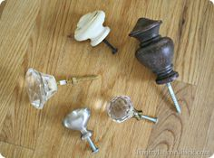 Using knobs in the wall - great post! Shows to different ways to do it - i.e. if…