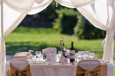Wedding Marquee at Dordogne Chateau Wedding