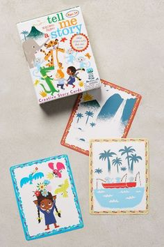 Story Time Cards #anthrofave