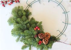 DIY Fresh Holiday Wreath - Healthy Home - Mother Earth Living