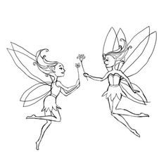 I used this tutorial on Drawing Factory to draw fairies, I remember it was fun but it took a long time cuz I was being a perfectionist, so mine look exactly like the pic & I used watercolor pencils, they're so cute